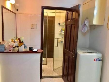 Cho thuê căn hộ chung cư 348 Bến Vân Đồn p1 q4 2PN-1WC full nội thất giá 12.5tr LH 0909621873, 60m2, 2 phòng ngủ, 1 toilet