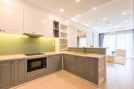 Cho thuê căn hộ chung cư Gold View Quận 4 full nội thất giá 16tr LH, 81m2, 2 phòng ngủ, 2 toilet