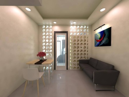 Cho thuê căn hộ chung cư Zion 1PN 685/66 Xô Viết Nghệ Tĩnh, P26, Q. Bình Thạnh giá từ 7tr LH 0888.137.098, 50m2, 1 phòng ngủ, 1 toilet
