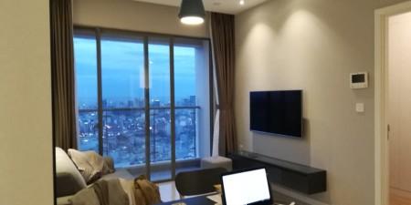 Cho thuê căn hộ Milenium Q4, 2 phòng ngủ. Full nội thất. Giá $1.200. LH 0935477709, 76m2, 2 phòng ngủ, 2 toilet