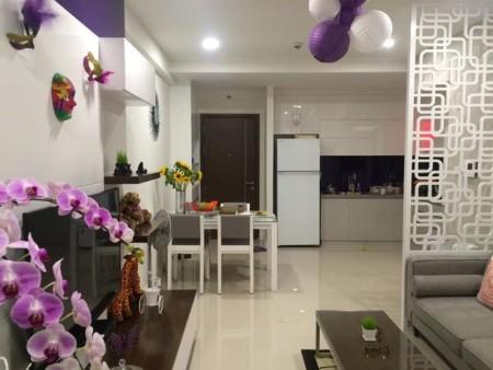 Cho thuê căn hộ Icon 56 Quận 4, dt 90m2, 2PN, 2WC, 90m2, 2 phòng ngủ, 2 toilet