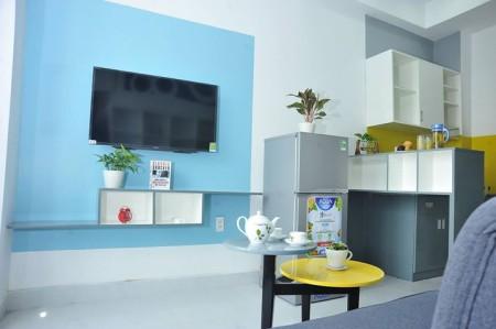 Cho thuê căn hộ dịch vụ Chubby House, số 10 Hồ Đức Di, Tân Phú., 20m2, 1 phòng ngủ, 1 toilet