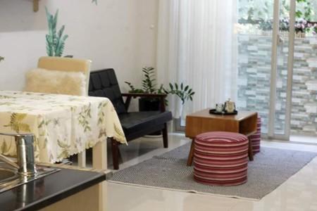 Căn hộ Parcspring cho thuê, 2 phòng ngủ, full nội thất. Giá 8.5tr/tháng, 70m2, 2 phòng ngủ, 2 toilet