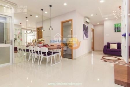 Chủ cho thuê căn hộ 2PN, cc Him Lam Chợ Lớn, giá 10.5 triệu/tháng, có đồ dùng, 86m2, 2 phòng ngủ, 2 toilet