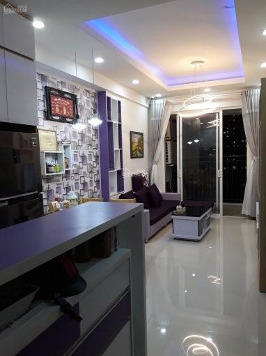 Trống căn hộ tầng cao rộng 65m2, giá 13 triệu/tháng. Căn hộ cao cấp Richstar, 65m2, 2 phòng ngủ, 2 toilet