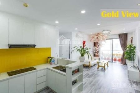 Mình cần cho thuê căn hộ Gold View rộng 75m2, giá 14 triệu/tháng, tầng cao, 75m2, 2 phòng ngủ, 2 toilet