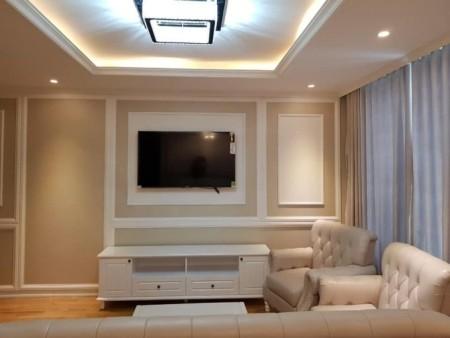 Cho thuê căn góc tầng cao, dt 100m2, 2 PN, cc Lesman Luxury, giá 46.55 triệu/tháng, 100m2, 2 phòng ngủ, 2 toilet