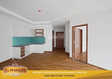 Cần cho thuê căn hộ 75m2, 2 PN, giá 9.5 triệu/tháng, tầng cao cc The Pegasuite, 75m2, 2 phòng ngủ, 2 toilet