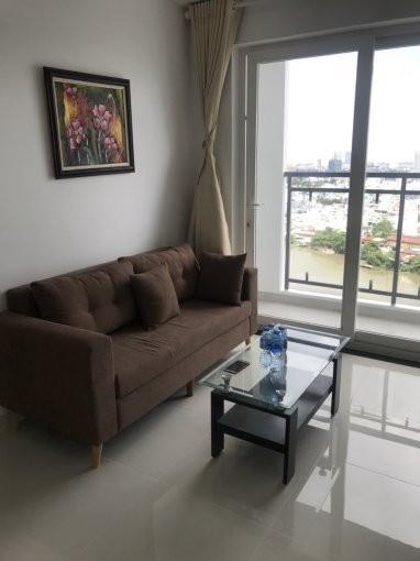 Cho thuê căn hộ Đức Khải 57m2, 2 PN, có sẵn đồ, giá 14 triệu/tháng, 57m2, 2 phòng ngủ, 1 toilet