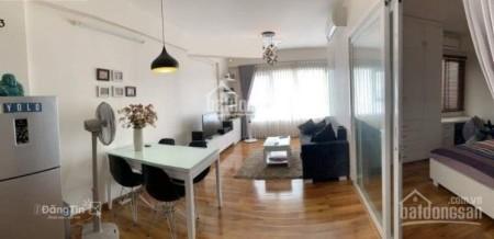 Cho thuê căn hộ rộng 68m2, cc The Bridgeview, tầng cao, đủ đồ, giá 12 triệu/tháng, 68m2, 2 phòng ngủ, 2 toilet
