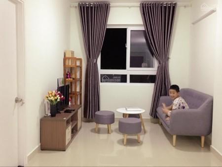 Căn hộ nằm tầng 12 yên tĩnh, cc Topaz Quận 8 cần cho thuê giá 11 triệu/tháng, dt 70m2, 70m2, 2 phòng ngủ, 2 toilet