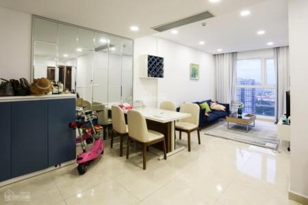 Chủ cần cho thuê căn hộ tầng 19, cc Golđen Star, dt 76m2, giá 15 triệu/tháng, 76m2, 2 phòng ngủ, 2 toilet