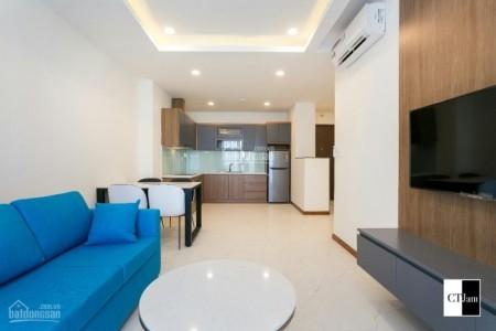Căn hộ mới hướng tốt cần cho thuê giá 15 triệu/tháng, City View, dt 76m2, 76m2, 2 phòng ngủ, 2 toilet