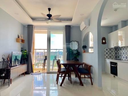 Cho thuê căn hộ 66m2, cc Saigon Mia, có nội thất, giá 12 triệu/tháng, LHCC, 66m2, 2 phòng ngủ, 2 toilet