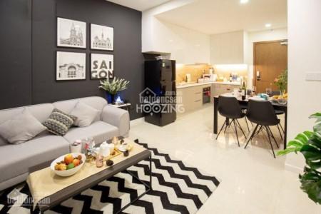 Millennium Quận 4 cần cho thuê căn hộ rộng 47m2, giá 12.7 triệu/tháng, 47m2, 1 phòng ngủ, 1 toilet