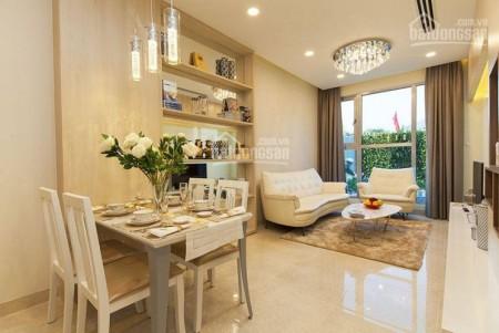The Golden Quận 7 cho thuê căn hộ tầng cao 2 PN, dt 78m2, giá 15 triệu/tháng, 78m2, 2 phòng ngủ, 2 toilet