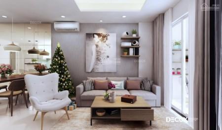 Trống căn hộ tầng cao rộng 70m2, 2 PN, giá 9 triệu/tháng, cc Melody Residences, 72m2, 2 phòng ngủ, 2 toilet