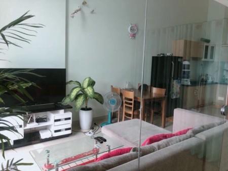 Cho thuê căn hộ rộng 44m2, có gác lửng, đủ nội thất, cc La Astoria, giá 8.5 triệu/tháng, 44m2, 1 phòng ngủ, 1 toilet