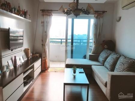 Sông Đà Tower Quận 3 cần cho thuê căn hộ rộng 80m2, giá 16 triệu/tháng, 2 PN, 80m2, 2 phòng ngủ, 2 toilet