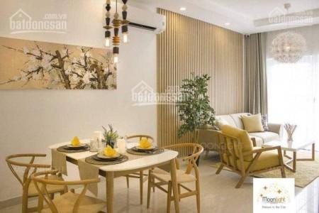 Moonlight Thủ Đức có căn hộ rộng 68m2, 2 PN, tầng cao, giá 9 triệu/tháng, 68m2, 2 phòng ngủ, 2 toilet