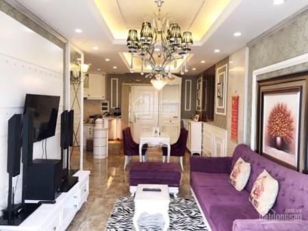 Căn hộ tầng cao có ban công rộng 105m2, 3 PN, cc Golden Mansion, giá 16 triệu/tháng, 105m2, 3 phòng ngủ, 3 toilet