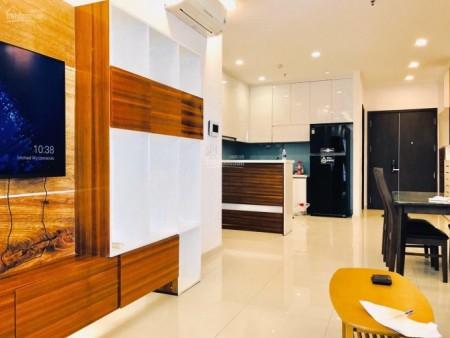 Căn hộ tầng cao có sẵn nội thất rộng 70m2, 2 PN, giá 13 triệu/tháng, cc Riverside 90, 70m2, 2 phòng ngủ, 2 toilet