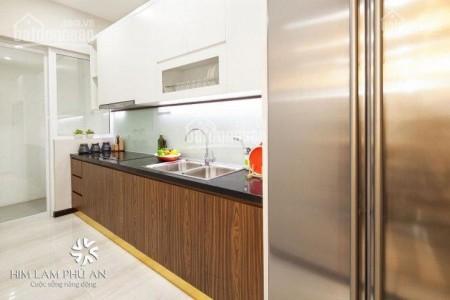 Căn hộ hoàn thiện nội thất rộng 63m2, giá 9 triệu/tháng. CC Him Lam Phú An, 63m2, 2 phòng ngủ, 2 toilet