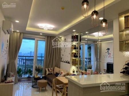 Có căn hộ rộng 78m2, cc Saigon Mia có sẵn đồ dùng, 2 PN, giá 7 triệu/tháng, 78m2, 2 phòng ngủ, 2 toilet