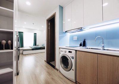 Officetel cc Charmington Quận 10 cần cho thuê giá 15 triệu/tháng, dt 45m2, 45m2, 1 phòng ngủ, 1 toilet