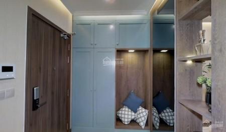 Hado Centrosa Garden có căn hộ rộng 56m2, 1 PN, sàn gỗ, cho thuê giá 18 triệu/tháng, 56m2, 1 phòng ngủ, 1 toilet