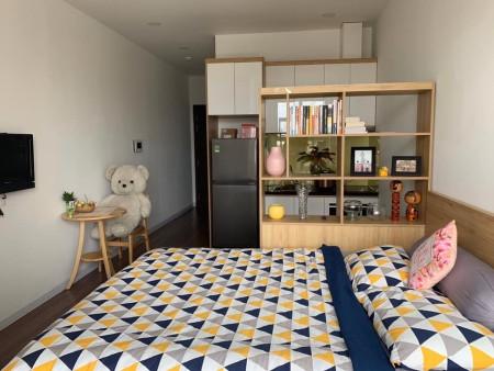 Cho thuê căn hộ Offictel Orchard Parkview full tiện nghi #12 Triệu bao PQL Tel 0942811343 (Zalo/Viber/phone) đi xem hoàn, 40m2, 1 phòng ngủ, 1 toilet