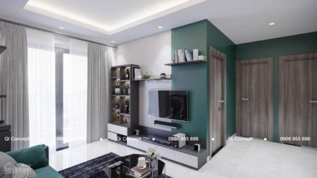 Richmond Bình Thạnh cho thuê căn hộ 2 PN, dt 66m2, có sẵn đồ, giá 9 triệu/tháng, 66m2, 2 phòng ngủ, 2 toilet