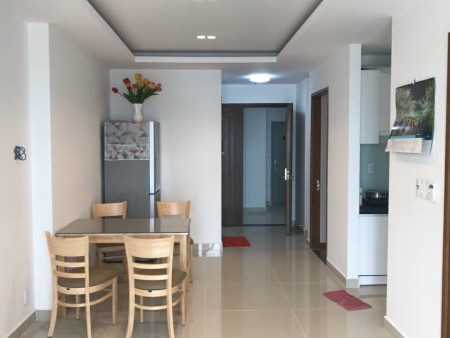 Cho thuê căn hộ 2 PN, đủ nội thất Sky Center đường Phổ Quang LH: 0909.053.301 gặp Kim, 75m2, 2 phòng ngủ, 2 toilet