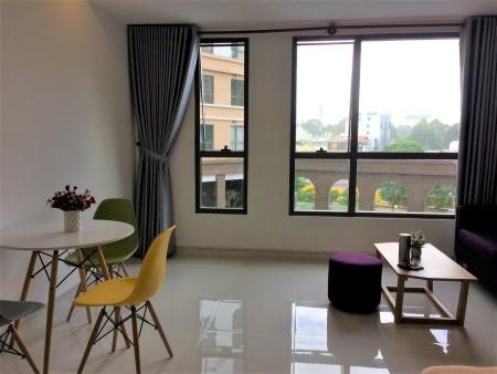 Cho thuê căn hộ Officetel đủ tiện nghi 36m2 Hoàng Minh Giám, Phú Nhuận LH: 0909.053.301, 36m2, 1 phòng ngủ, 1 toilet