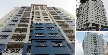 căn hộ Nguyễn Phúc Nguyên Quận 3, Dt : 83 m2, 2PN, Giá : 14 tr/th, có đầy đủ nội thất,, 83m2, 2 phòng ngủ, 2 toilet