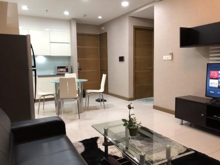 Cho thuê căn hộ 1 PN đầy đủ nội thất Sài Gòn Airport LH: 0909.053.301, 60m2, 1 phòng ngủ, 1 toilet