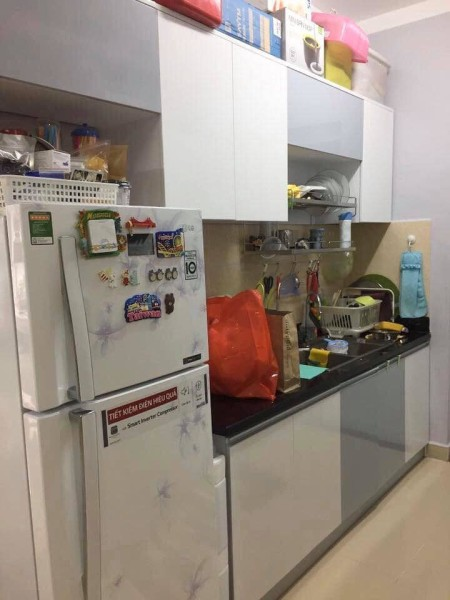 14,5 Triệu – Cho thuê căn hộ cao cấp giá rẻ SAIGONRES đường Nguyễn Xí Quận Bình Thạnh 2PN/2WC nhà đẹp y hình, 71m2, 2 phòng ngủ, 2 toilet