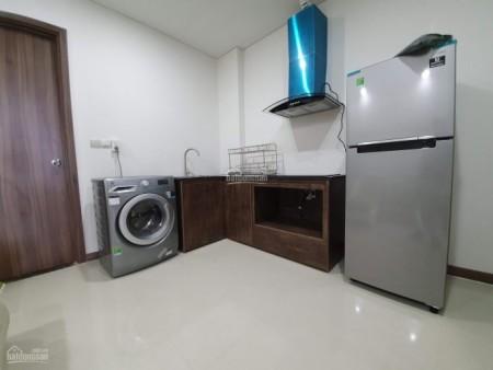 Cần cho thuê căn hộ trống cc Hado Centrosa, dt 50m2, 1 PN, giá 15.5 triệu/tháng, 50m2, 1 phòng ngủ, 1 toilet