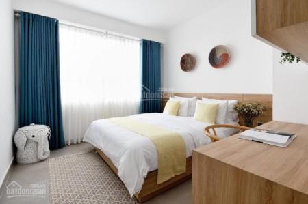 Trống căn hộ rộng 72m2 tầng cao, 1 PN, đủ tiện nghi, City Garden, giá 16 triệu/tháng, 72m2, 2 phòng ngủ, 2 toilet