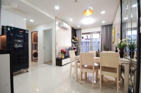 Chủ cần cho thuê căn hộ Masteri Millennium dtsd 72m2, 2 PN, giá 19 triệu/tháng, 72m2, 2 phòng ngủ, 2 toilet