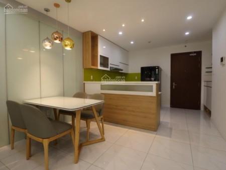Cho thuê căn hộ rộng 67.5m2, 2 PN, đồ dùng có sẵn, giá 16 triệu/tháng, cc The Gold View, 675m2, 2 phòng ngủ, 2 toilet