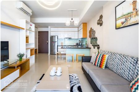 Cho thuê căn hộ rộng 75m2, giá 16 triệu/tháng, cc The Tresor, đủ đồ dùng, 75m2, 2 phòng ngủ, 2 toilet