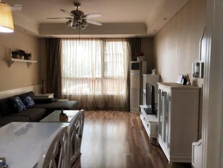 Căn hộ có 2 PN, 2 ban công, đủ đồ cần cho thuê giá 18 triệu/tháng, dtsd 101m2, cc Manor, 101m2, 2 phòng ngủ, 2 toilet
