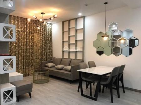 Cho thuê căn hộ rộng 65m2, tầng cao, cc Xi Grand Court, giá 16 triệu/tháng, 65m2, 2 phòng ngủ, 2 toilet