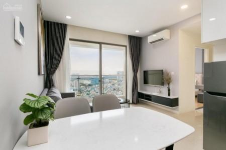 Cho thuê căn hộ tầng cao rộng 86m2, 2 PN, giá 12 triệu/tháng, cc Him Lam Chợ Lớn, 86m2, 2 phòng ngủ, 2 toilet