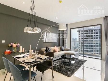 Masteri Quận 4 có căn hộ rộng 65m2, cần cho thuê giá 15 triệu/tháng, có ban công, 65m2, 2 phòng ngủ, 2 toilet