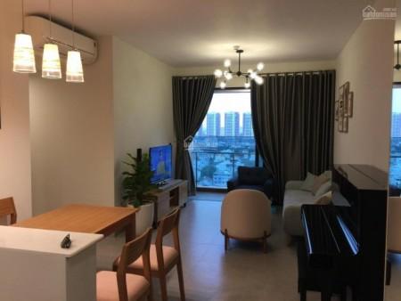 Tháp Cruz cc Feliz Quận 2 có căn hộ rộng 76m2, đủ đồ dùng, cho thuê giá 23 triệu/tháng, 76m2, 2 phòng ngủ, 2 toilet