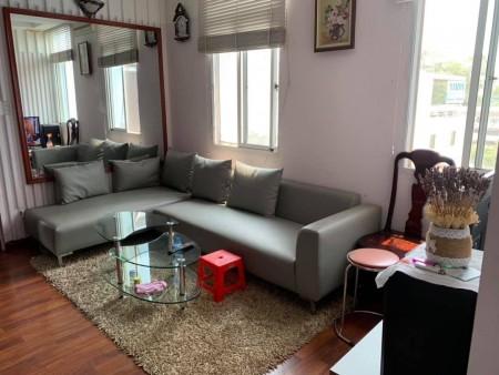 Cho thuê căn hộ 1 phòng ngủ Mỹ Vinh DT 75m2 full nội thất 14 triệu / tháng Tel 0932709098 A.Lộc (Zalo/Viber/Phone), 76m2, 1 phòng ngủ, 1 toilet