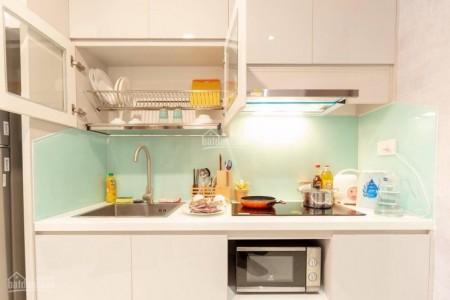 Tresor Quận 4 có căn hộ rộng 30m2, thiết kế Officetel, 1 PN, giá 10 triệu/tháng, 30m2, 1 phòng ngủ, 1 toilet