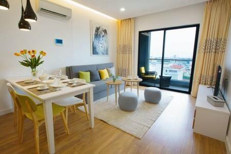 Cho thuê căn hộ Republic Plaza 1 phòng ngủ, full tiện nghi cực đẹp #18 Triệu Bao hết phí! Tel 0942.811.343 đi xem ngay, 50m2, 1 phòng ngủ, 1 toilet